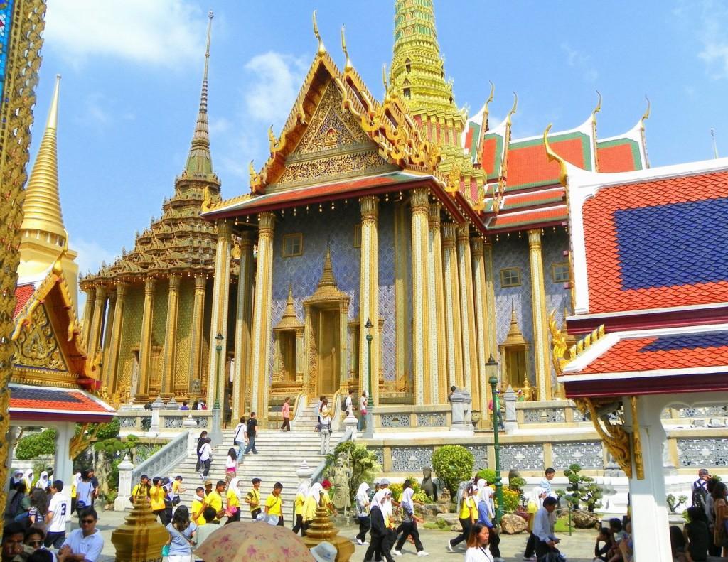 Thái Lan - sứ xở chùa vàng