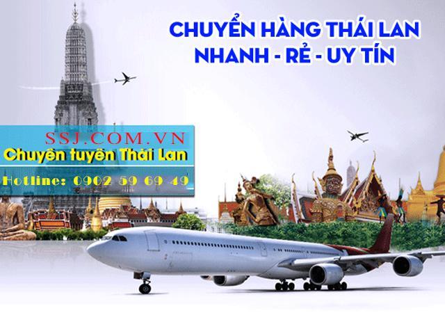 SSJ vận chuyển hàng từ Thái về Quảng Trị