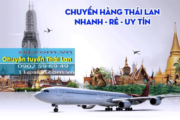 SSJ vận chuyển phụ tùng xe airblack Thái Lan