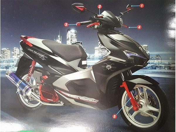 Đồ chơi xe máy Thái lan 2