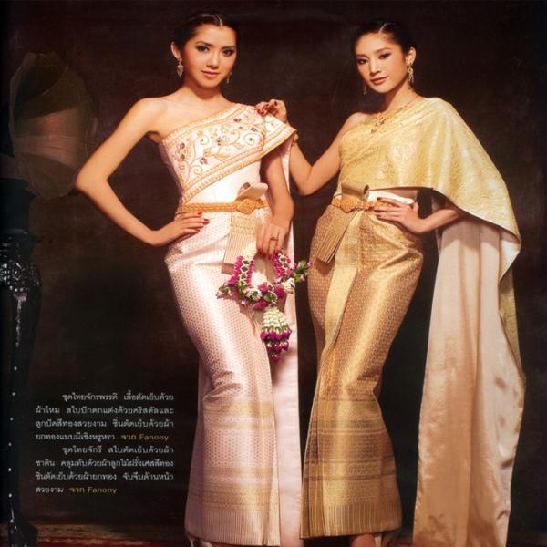 Trang phục truyền Thống Thái Lan 1