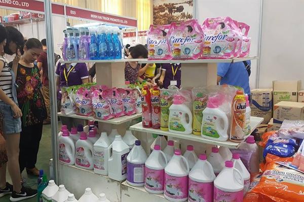 Chợ bán nước lau sàn tại Thái Lan