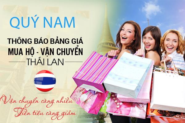 Quý Nam nhận vận chuyển hàng Thái Lan