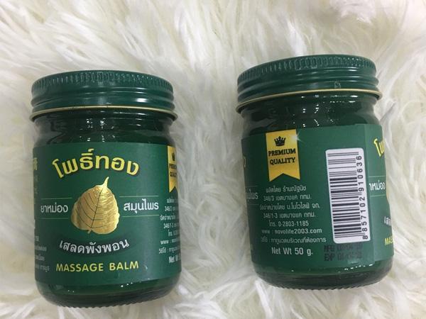Dầu masasge Thái Lan