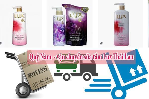 Quý Nam - vận chuyển sữa tắm Lux Thái Lan