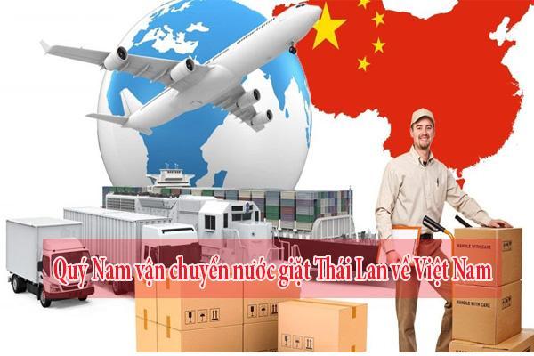 Quý Nam vận chuyển nước giặt Thái Lan về Việt Nam uy tín