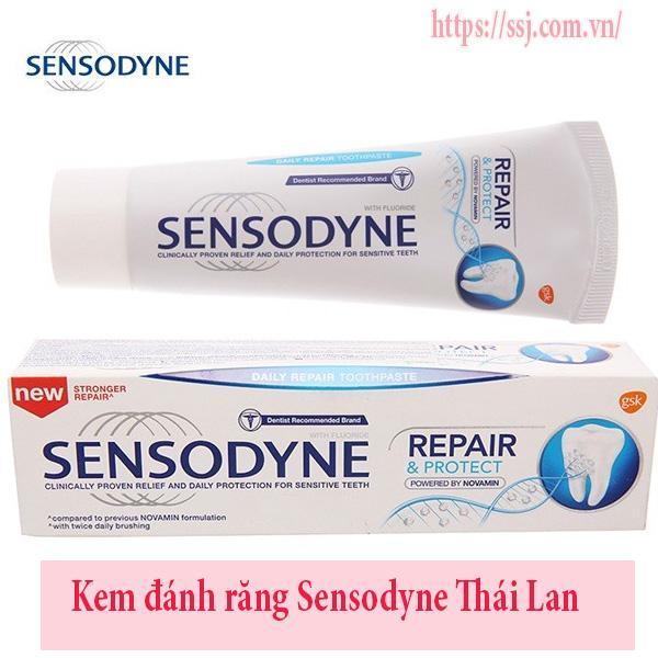 Kem đánh răng Sensodyne Thái Lan
