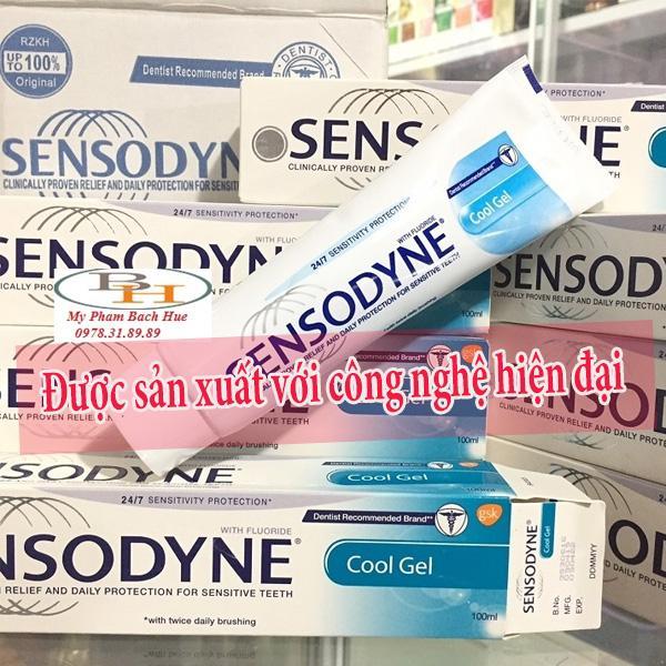 Sensodyne được sản xuất với công nghệ hiện đại