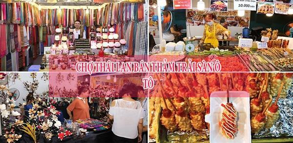 Sanh Thái Lan mua thảm trải sàn ô tô Thái Lan