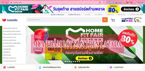 Mua thảm lót sàn ô tô Thái Lan trực tuyến