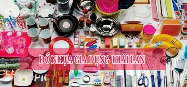 Đồ nhựa gia dụng Thái Lan