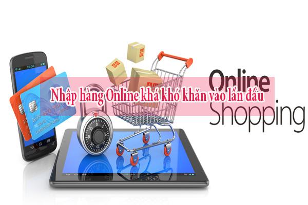 Nhập vải áo dài online sẽ khó cho những khách hàng nhập lần đầu