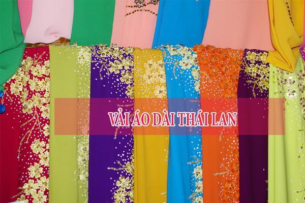 Vải áo dài Thái Lan