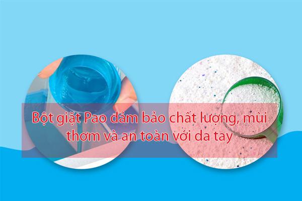 Bột giặt Pao Thái Lan đảm bảo chất lượng