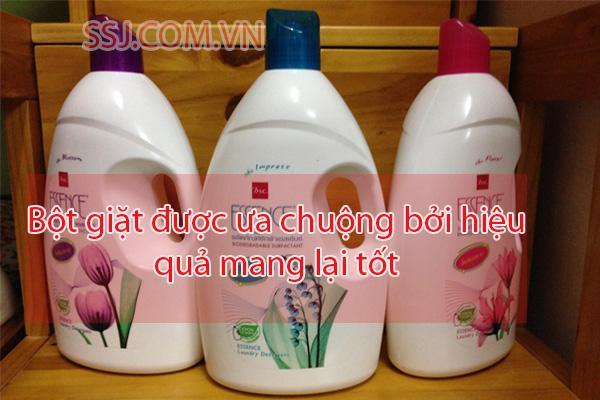Nước giặt Essence Thái Lan được nhiều người ưa chuộng