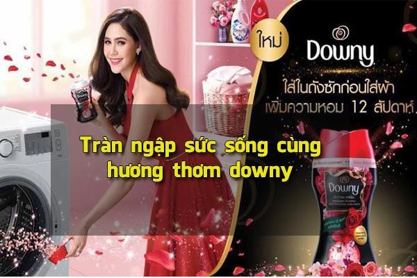 Nước xả vải downy Thái Lan
