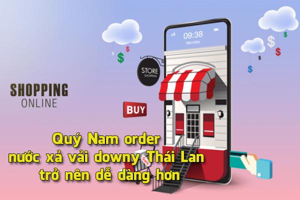 Quý Nam mua hộ nước xả vải Downy Thái Lan Miễn Phí