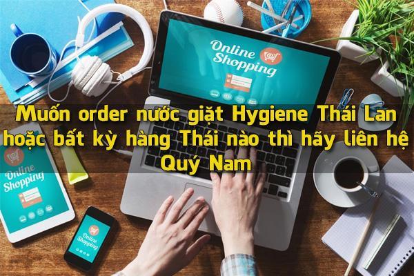 Quý Nam order nước giặt Hygiene Thái Lan MIỄN PHÍ