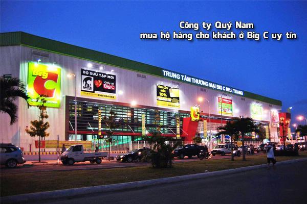 Quý Nam mua hộ hàng Thái Lan trên Big C Thái Lan