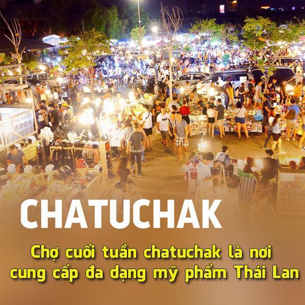 Chợ Chatuchak Thái Lan