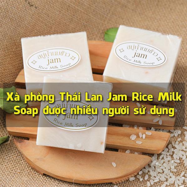 Xà phòng Thái Lan Jam Rice Milk Soap