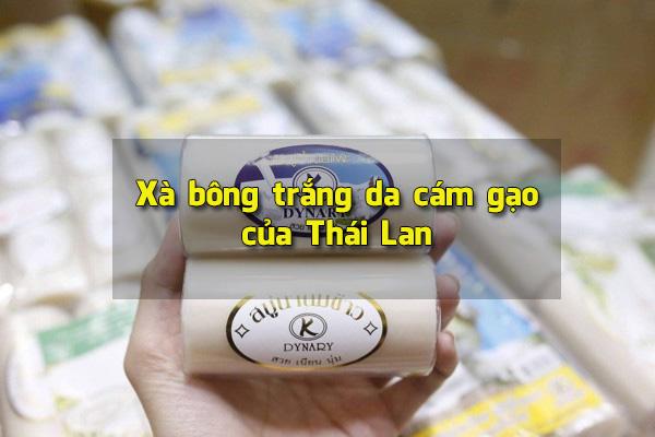 Xà bông trắng da Thái Lan