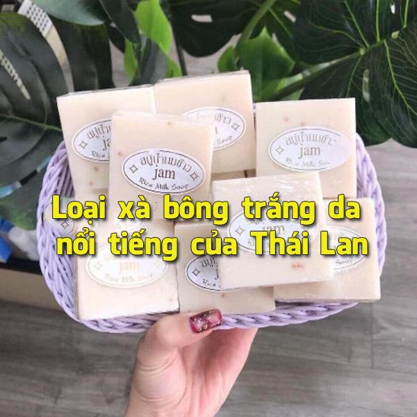 xà bông cám gạo Thái Lan