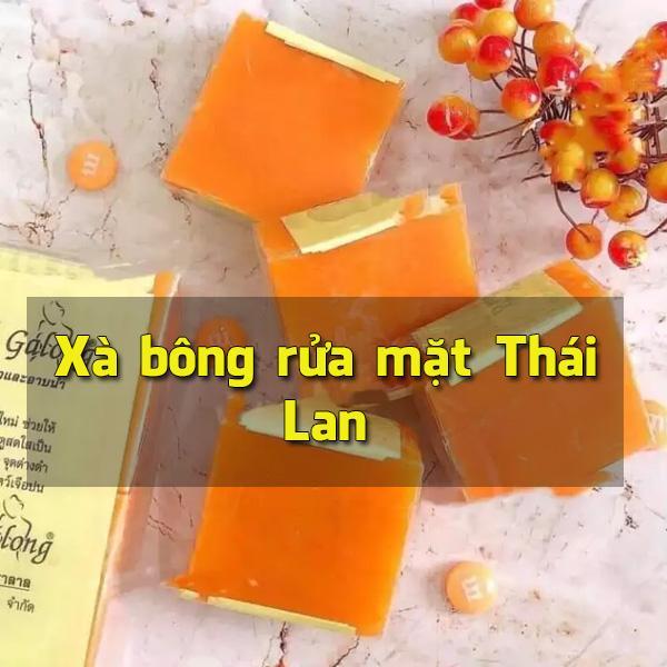 Xà bông rửa mặt Thái Lan