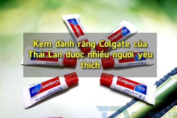 Kem đánh răng colgate Thái Lan