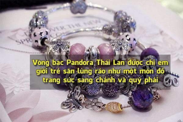 Vòng bạc Pandora Thái Lan