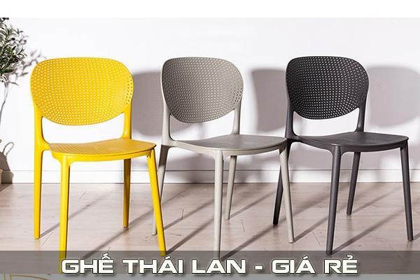Ghế nhựa Thái Lan
