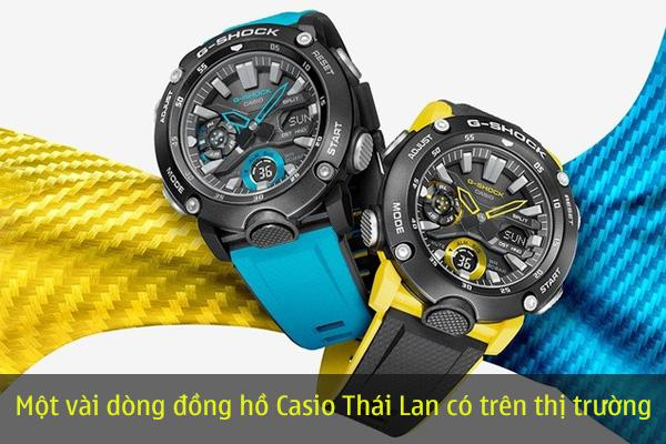 Đồng hồ Casio Thái Lan