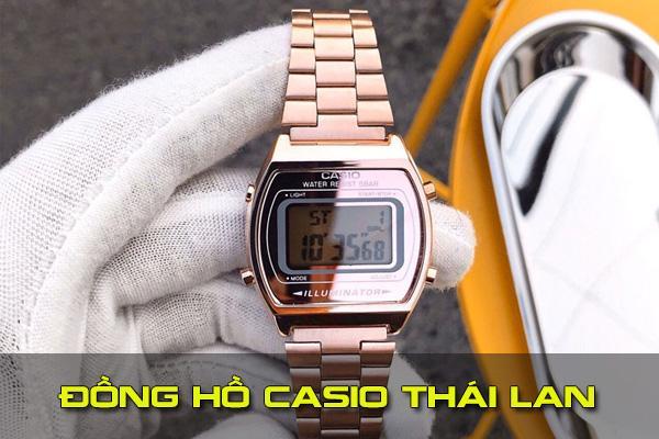 Các loại đồng hồ Casio Thái Lan