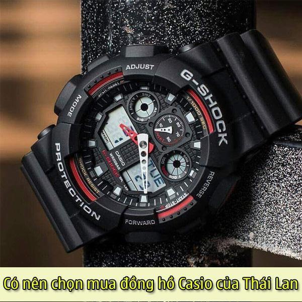 Mua đồng hồ casio Thái Lan giá mềm - chất lượng